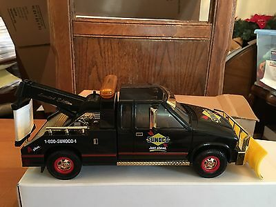 1996 Sunoco Series 3 Tow Truck With Snow Plow Gold Serial Numbered Limited Edit
