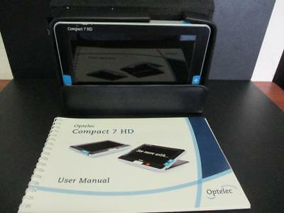 Optelec Compact 7 Hd Colour Electronic Magnifier With Manual 2012