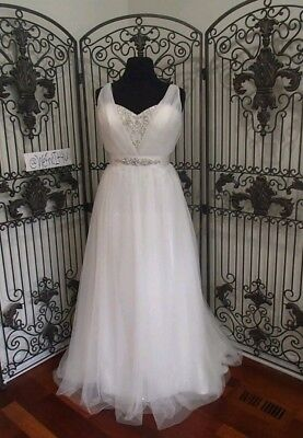 Alfred Angelo Disney Jasmine wedding dress. size 16 (small 16)