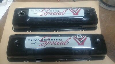 ford y block valve covers