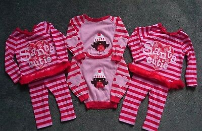 Christmas 9-12 months twin girls bundle