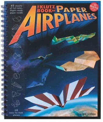 Book of Paper Airplanes by Doug Stillinger 9781570548307