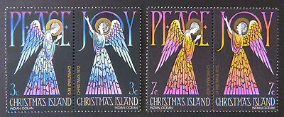 1972 Christmas Island Stamps - Christmas - Peace & Joy - Set of 4 MNH
