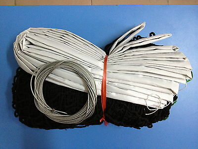 Tennis Court Net Standard FULL Size Steel Cable included SHIPPED quickly