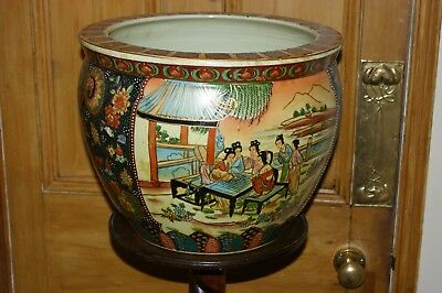Large Chinese Jardiniere.