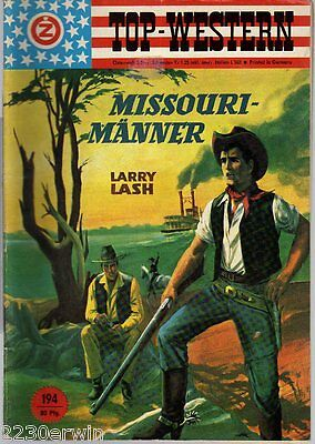 TOP WESTERN EXPRESS 194 / Larry Lash / (1962-1975 Indra-Verlag)