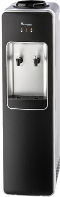 Water Cooler Cold and Room Black & Silver  (AQP-FCH-B)