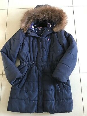 Joules Girls Winter Coat Age 9-10 years L@@K!
