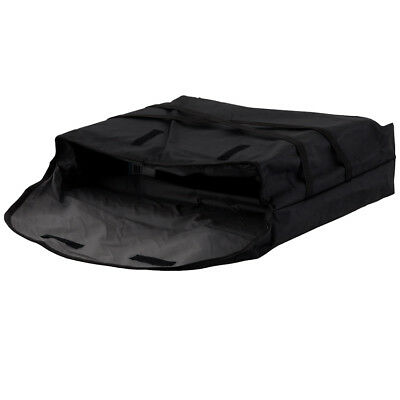 "Pizza Delivery Bag 20"" x 20"" x 5-1/2""; Insulated, Black"