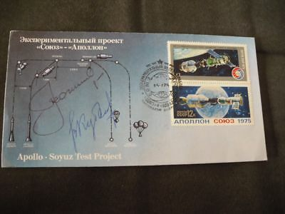 SOJUS 19 ASTP launch orig.signed Leonov, Kubassow, SPACE