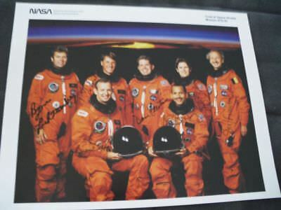 STS 45 NASA LItho orig.signed Crew, SPACE