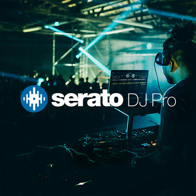 Serato DJ (Full Version SW Key) - DJ Software mit 2/4 Decks Mixer & Effekten