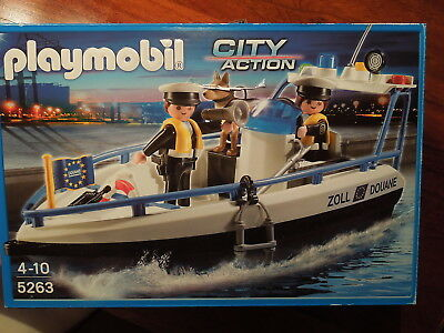 """Playmobil"" 5263 City Action Zollboot"