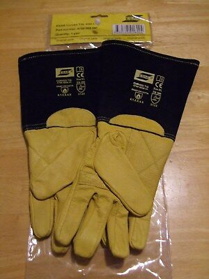 ESAB Curved Tig Welding Gloves - Size 9/L Unused In Original Packaging