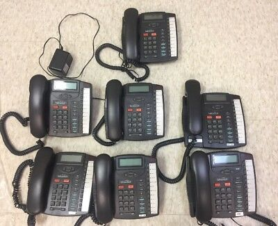 LOT Of (7) TALKSWITCH 9133i POE Phones