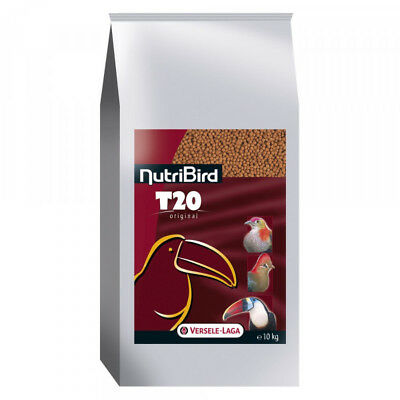 Aliments NutriBird T20 Versele Laga pour grands frugivores Sac 10 kg