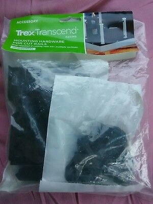 Trex Transcend Railing Mounting Hardware For Cut Rails Vintage Lantern BRAND NEW