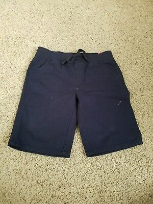 New Justice school uniform navy blue slim shorts. Size 14