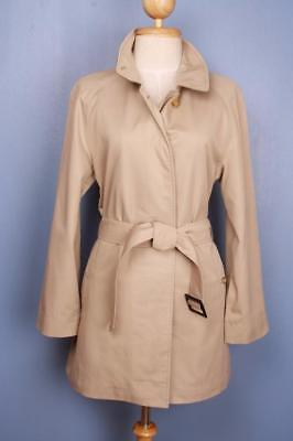BEAUTIFUL Womens BURBERRY Single Breasted Short TRENCH Coat Mac Size 8/10 Small