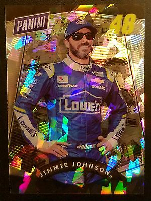 Jimmie Johnson 2017 Panini The National RARE Cracked Ice 10/25 ONLY GEM NASCAR