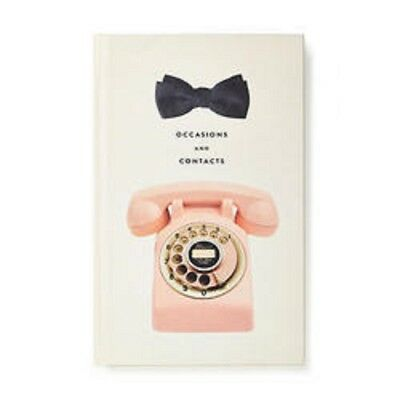 Nwt Kate Spade Telephone Address Book Occasions And Contacts Last 2 Left!