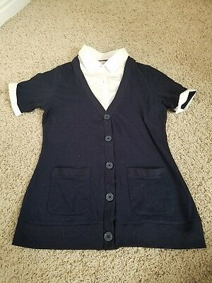french toast school uniform navy shirt size XL 18/20 , great condition.