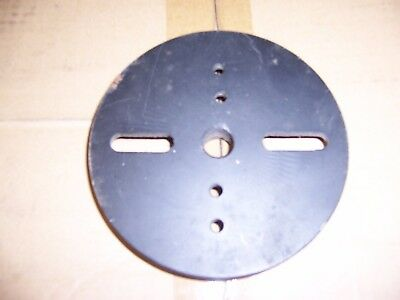 """Turning Tools, 6"""" Steel Lathe Faceplate,  3/4""""x10 TPI"""