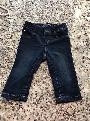 Tommy Hilfiger Girls skinny Jeans 6-9 Mo