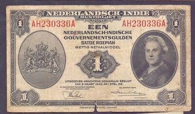 1 Gulden From Netherland Indies