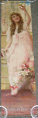 1917 & 1923 Pompeian Beauty Product Large Advertising Calendars w/Mary Pickford!