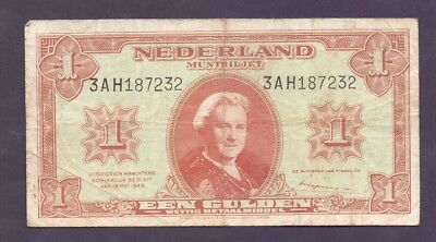1 Gulden From Netherland 1945