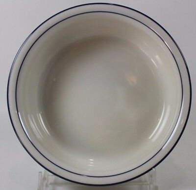 """Lenox Chinastone Poppies on Blue Soup Cereal Bowl 6 1/4"""""""