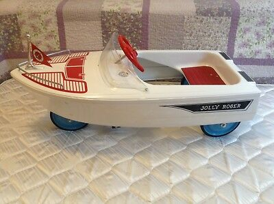 1950's Murray Pedal Car Boat Jolly Roger RARE!