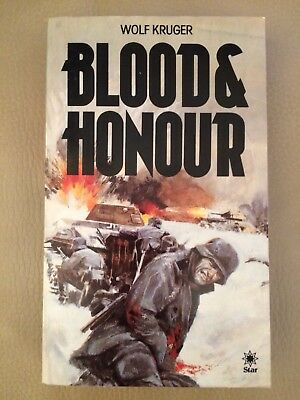 Blood and Honour (A Star book) by Wolf Kruger, Paperback Book 1981