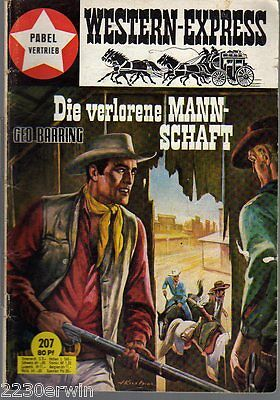 WESTERN EXPRESS 207 / Geo Barring (1964-1974 Indra-Verlag)