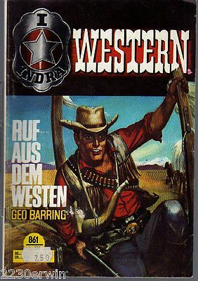 INDRA (RODEO) WESTERN 861 / Geo Barring / (1970-1973 Indra-Verlag)