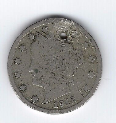1912-S Liberty Nickel - Key Date!