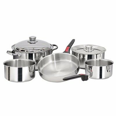 NEW Magma Nesting 10 Piece S.s. Cookware Set A10-360l