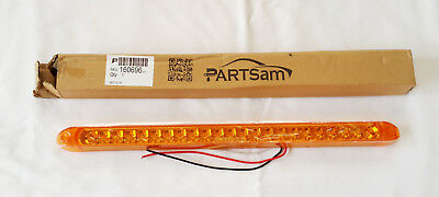 NIB Amber 17 inch 23 LED 3 wire Light Bar - Turn Signal Light Underglow