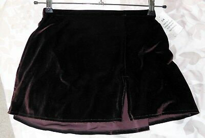NEW VELVET ICE SKATING SKIRT BY Jerry's - Ladies Small