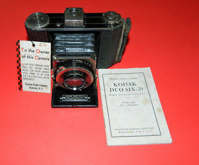 Vintage Kodak Duo Six - 20 in Orginal Box with Instructions