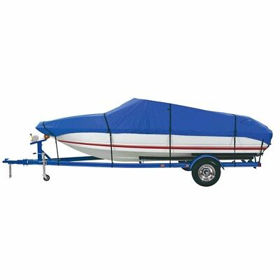 NEW Dallas Manufacturing Co. Custom Grade Polyester Boat Cover F 17'-19' Center