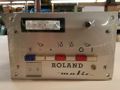 ROLAND-MATIC dampening roller control for MAN Roland printing press refurbished