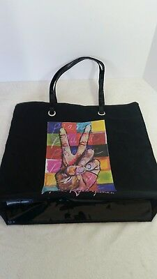 Maria Reyes Jones Prana Large Tote Shoulder Purse Laptop Beach Gym Travel Bag