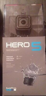 GoPro Hero 5 Session HD Video Camera 4K Wifi Voice Control Waterproof - New