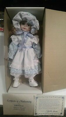 "PRINCESS HOUSE PORCELAIN 14"" KRYSTAL DOLL #691 ORIGINAL BOX with COA"