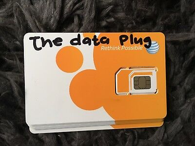 AT&T UNLIMITED 4G LTE DATA SIM CARD  $29.99 per month