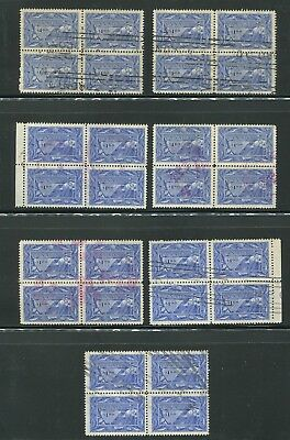 Canada #302 Used Block Of 4 Wholesale Lot