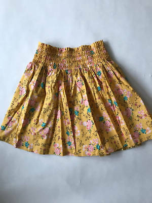 Matilda Jane Avery Skirt Friends Forever 435 Yellow Floral! NWOT! 10