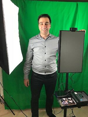Photo Booth System - DIY KIT (includes frame, shelf, and touchscreen)